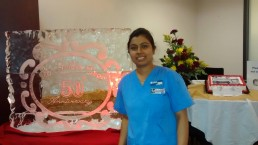 Shanta Dhar graduated from the Winnipeg Campus with a Health Care Aid Diploma (Honours) and is now employed.
