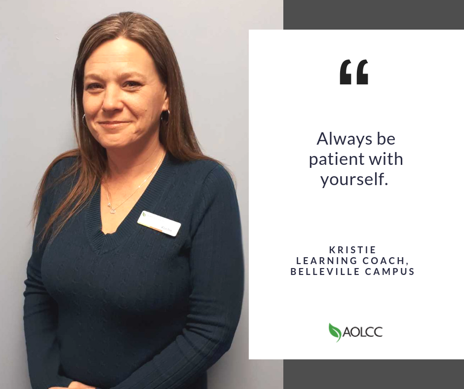 Kristie - Learning Coach AOLCC Belleville - Quote